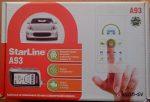 Starline A93 Сигнализация с установкой газель бизнес